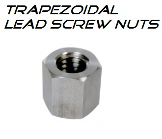 20x4 MES 20 AL Trap (C) Nut leadscrew Steel - LH Hex