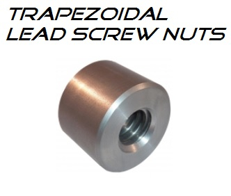 28x5 MZP - Trap (C) Nut leadscrew STEEL - RH Round